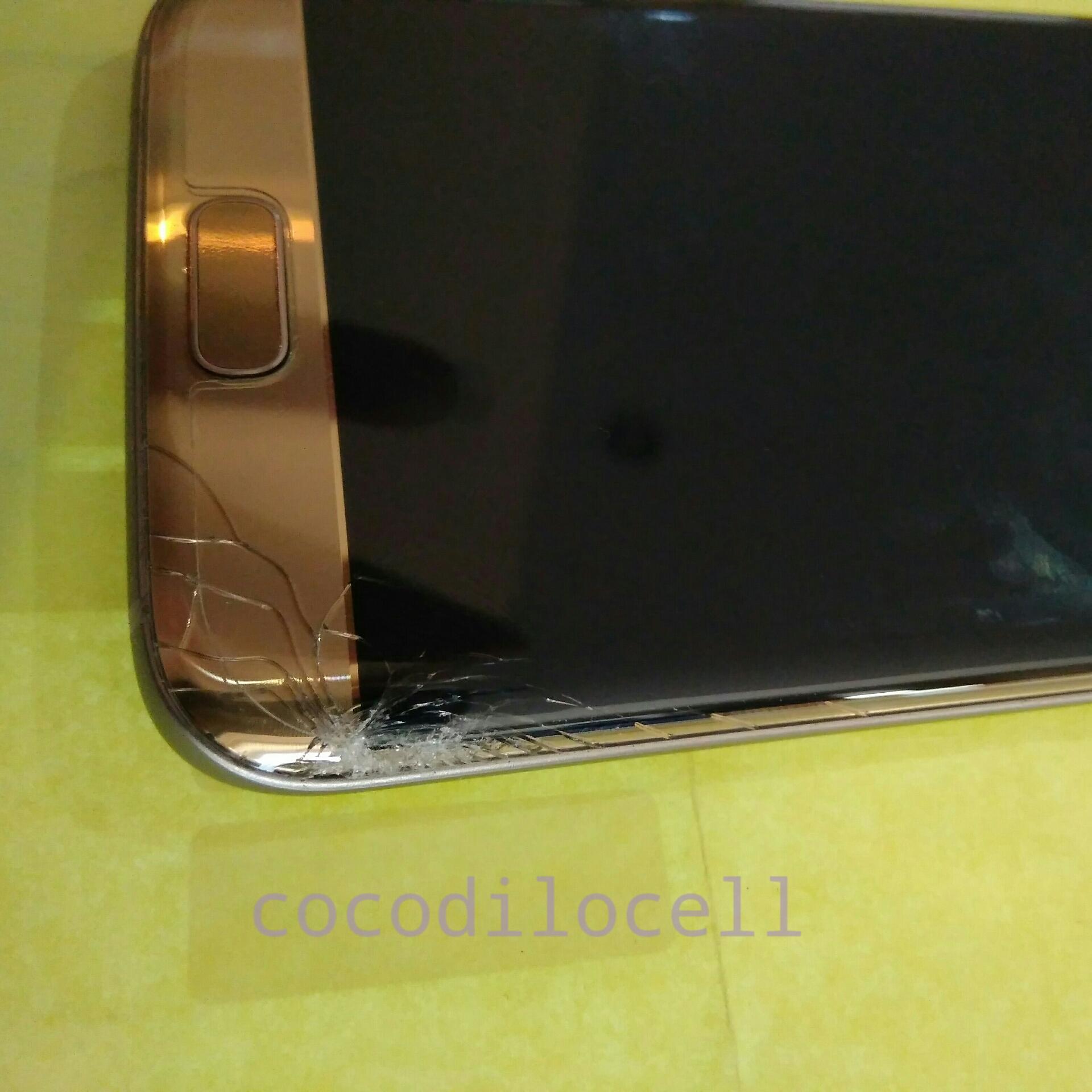 Ganti Lcd Samsung S7 Edge Gold Retak Dibagian Touchscreen Original Dan User Pun Setuju Untuk Melakukan Pergantian Baru Seperti Biasa Proses Dilakukan Dengan Membuka Backcase Terlebih Dahulu Dikarenakan